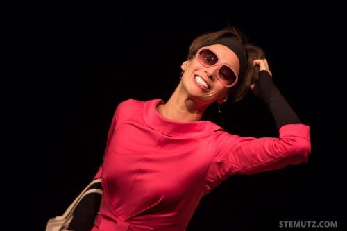 Sans chapeau ... Mam'Zelle Chapeau @ Nouveau Monde, Fribourg, Suisse, 25.09.2013