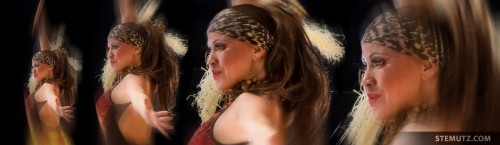 Dancer Nany, 4 different Sizes ...  RFI 2013: Final Show, Fribourg, Switzerland