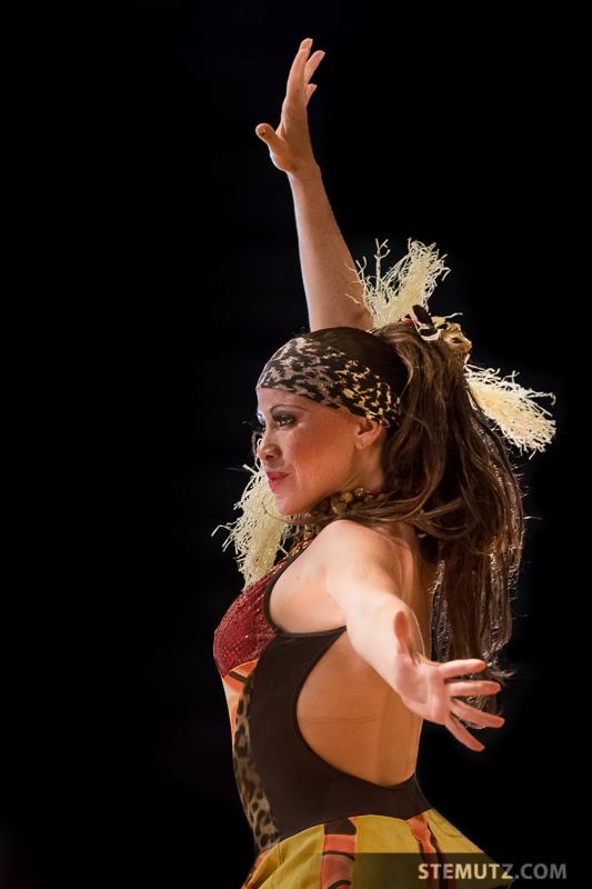 Dancer Nany, Original Picture ...  RFI 2013: Final Show, Fribourg, Switzerland