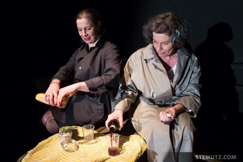 Pique-nique ... Fugueuses @ Théâtre 2.21, Lausanne, Suisse, 03-05.01.2014