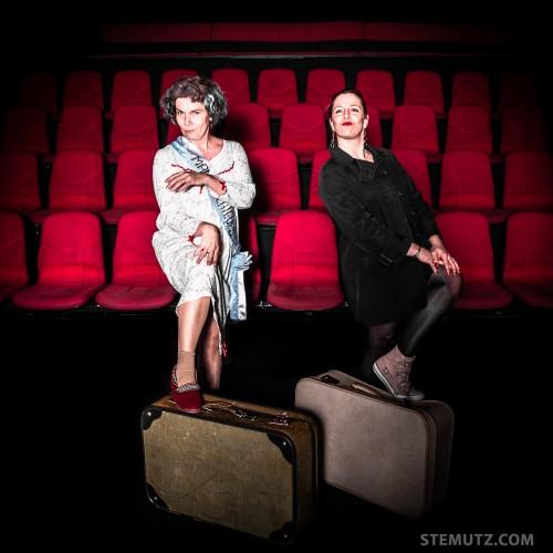 Deux femmes et deux valises ...Fugueuses @ Théâtre 2.21, Lausanne, Suisse
