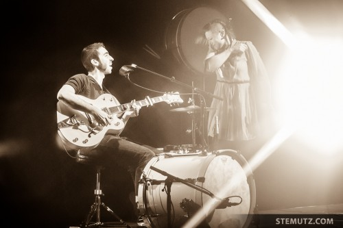 Nice Rock Couple ... Catfish (FR) @ Nouveau Monde, Fribourg, Suisse, 20.02.2014