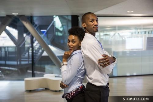 Ivy & Edwin Draughan ... Diesel Financial Corporate Photo Shoot @ Plexus Groupe E