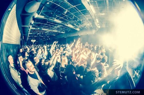 Sold-out Show ... Moderat (DE) @ Fri-Son, Fribourg, Switzerland, 19.02.2014