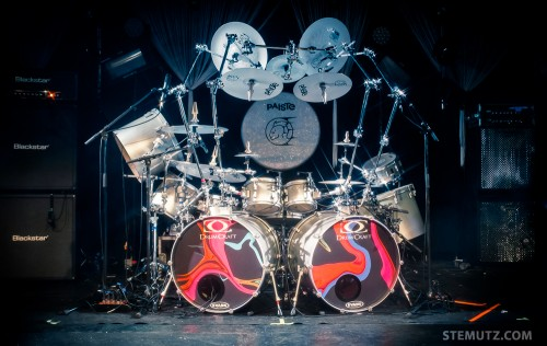 Mike Terrana's beautiful Drumkit ... Tarja Turunen (Fi), Ex-Nighwish @ RKC, 15.02.2014