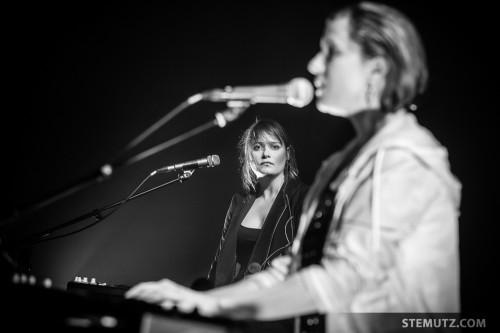 Emilie Zoé ... ANNA AARON @ Nouveau Monde, Fribourg, Suisse, 06.03.2014