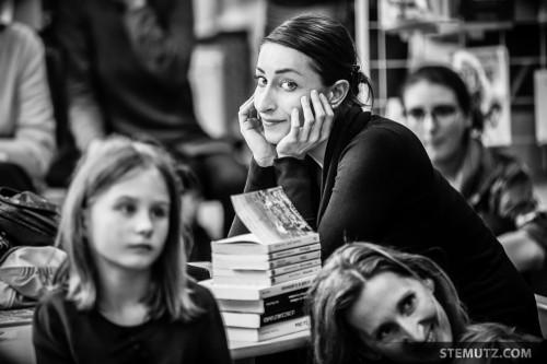 Eva Sherbetjian ... Meet me at the Library @ Fête de la danse 2014, Fribourg