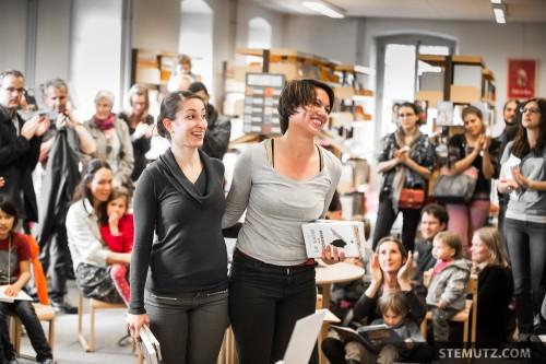 Happy Success ... Meet me at the Library @ Fête de la danse 2014, Fribourg