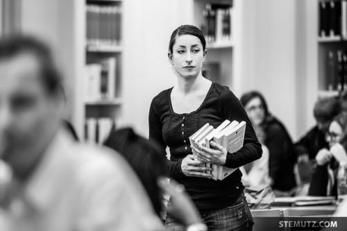 Eva and the Books ... Meet me at the Library @ Fête de la danse 2014, Fribourg
