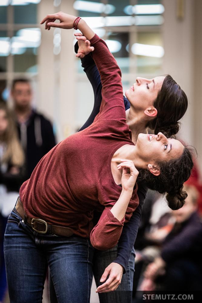 Maria & Eva ... Meet me at the Library @ Fête de la danse 2014, Fribourg
