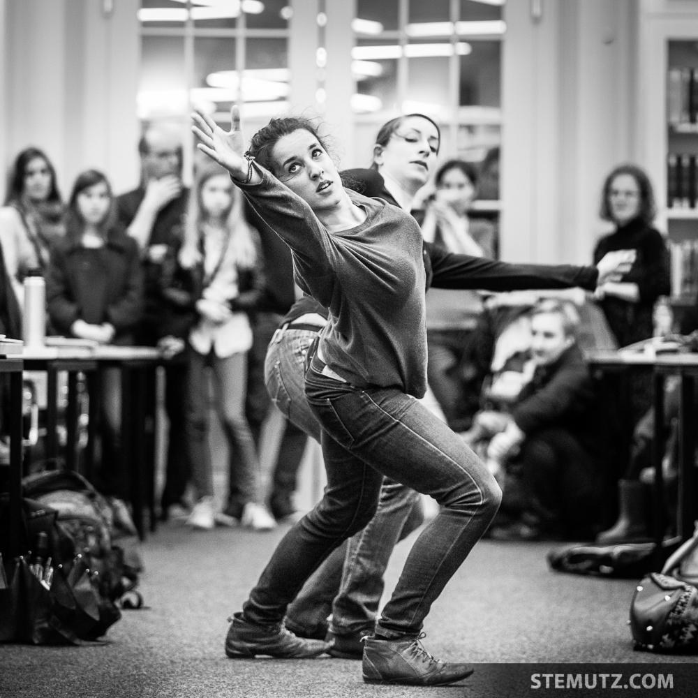 Maria Expression ... Meet me at the Library @ Fête de la danse 2014, Fribourg