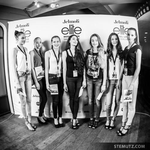 The 7 Bern Finalists ... Nadja K. @ Elite Model Look Contest, Bern, 12.04.2014