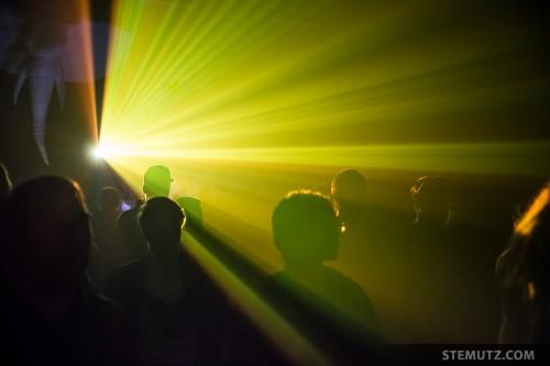 Nice Beamer Effect ... Oh My Fucking God @ Fri-Son, Fribourg, 09.05.2014
