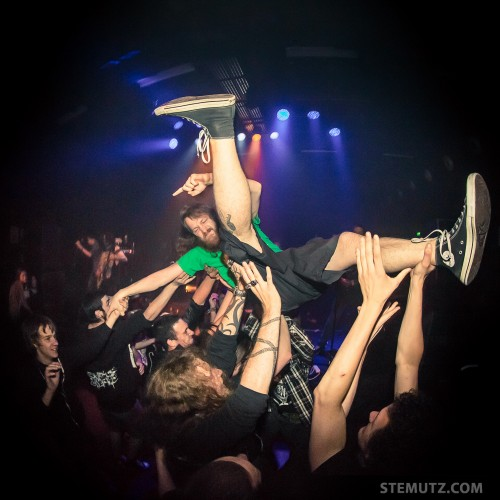 Promethee Stagediver Chris ...  Oh My Fucking God @ Fri-Son, 09.05.2014