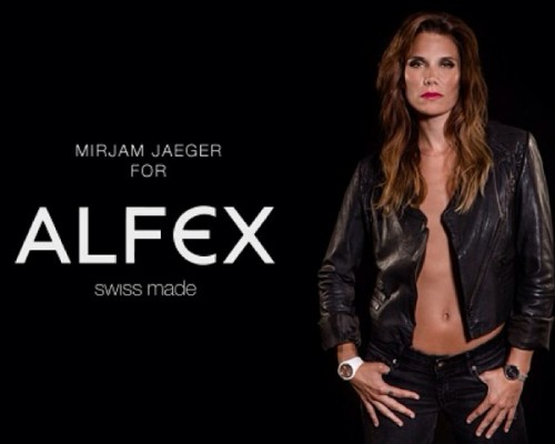 New Face of ALFEX Watches: Olympic Skier Mirjam Jaeger by STEMUTZ