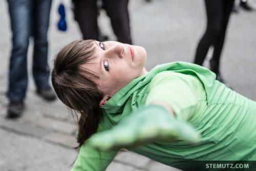 Take my Hand ... urbanthropus by Da Motus! @ Fête de la danse 2014, Fribourg