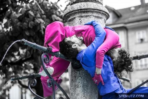 The Fountain ... urbanthropus by Da Motus! @ Fête de la danse 2014, Fribourg