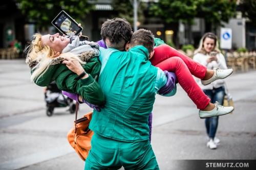 Include People ... urbanthropus by Da Motus! @ Fête de la danse 2014, Fribourg