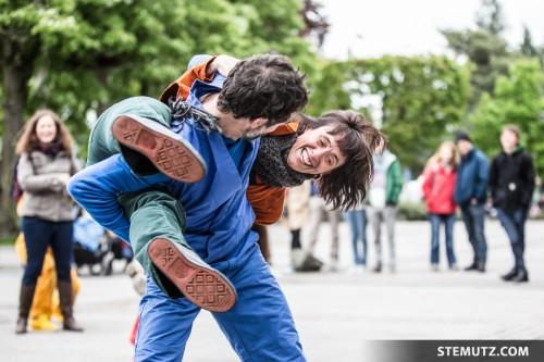 Swinging Rut ... urbanthropus by Da Motus! @ Fête de la danse 2014, Fribourg