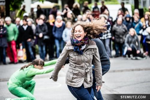 Positive Vibes ... urbanthropus by Da Motus! @ Fête de la danse 2014, Fribourg