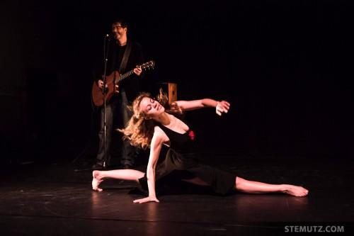Arielle de Sadeleer ... Dance Juke-Box @ Fête de la danse 2014, Fribourg