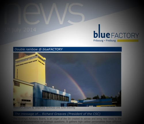 Published in the blueFACTORY Newsletter 07-2014... Double Rainbow