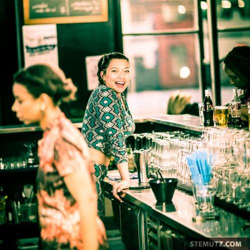 Natasha, surprised smile ... :-) @ African Night, Nouveau Monde, Fribourg