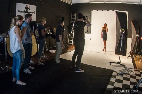 Making-Of: Mirjam Jaeger Shoot for ALFEX at CHAMBRE NOIRE Studio
