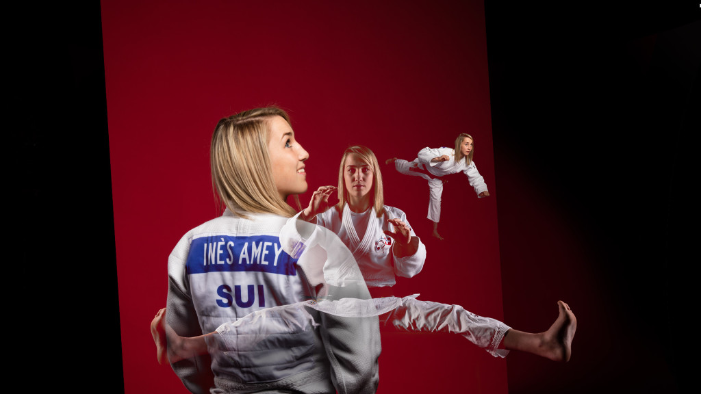 Judoka Ines Amey - Swiss Champion by stemutz photographe fribourg