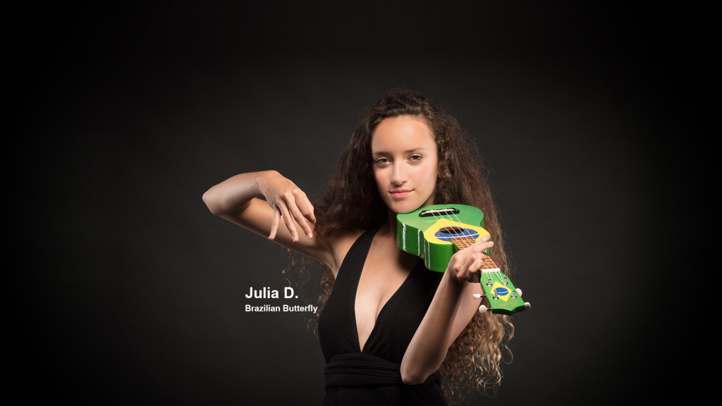 Julia D. Brazilian Butterfly - Fashion Shoot Fribourg Portraits Professionnel STEMUTZ