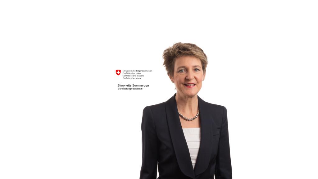 Simonetta Sommaruga, Bundesratspräsidentin Schweiz, by STEMUTZ Fotograf Freiburg photographe Fribourg