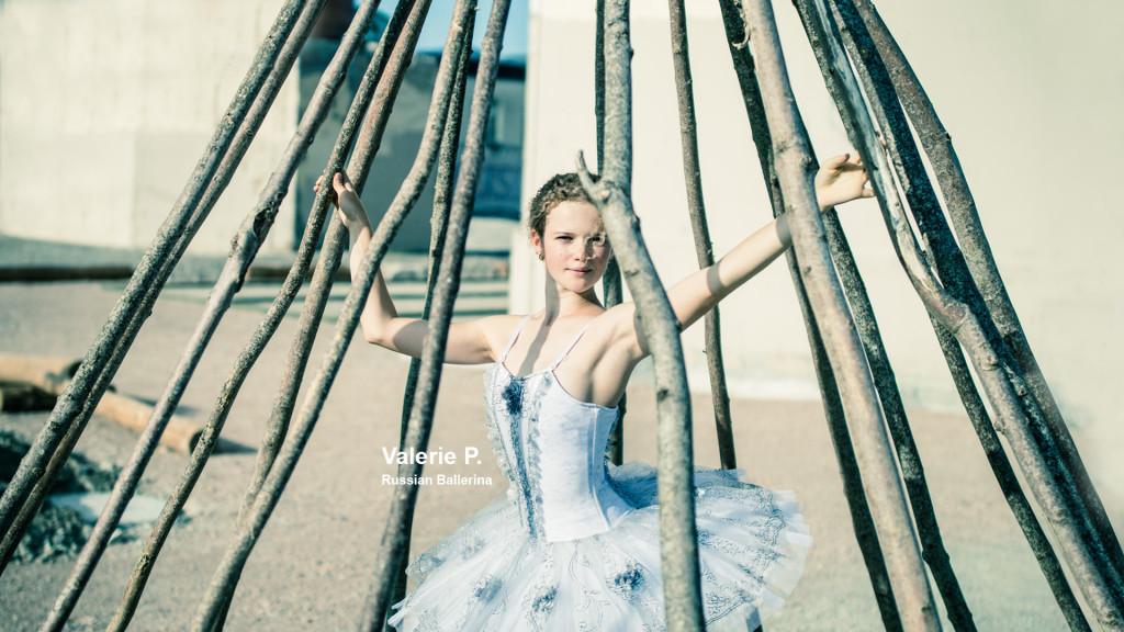 Valerie Russian Ballerina par le photographe fribourgeois STEMUTZ