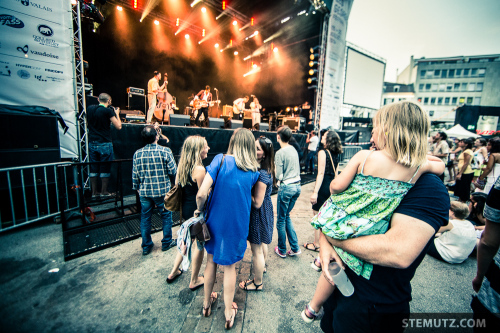 Coconut Kings @ Les Georges Festival, Fribourg, 19.07.2014