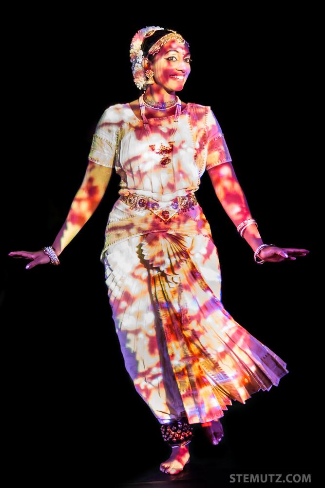 Dancer Céline Girard ... Guadalupe @ Nouveau Monde, Fribourg, 19.09.2014