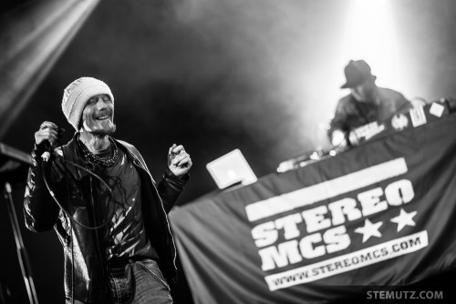 STEREO MC'S (UK) @ Fri-Son, Fribourg, Switzerland, 06.11.2014