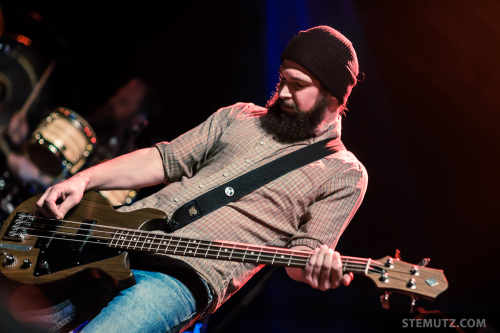 Bass Player Pascal Humbert ... Wovenhand (AU) @ Fri-Son, Fribourg, 27.09.2014