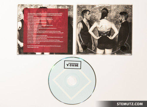 New V CU3E Promo Pictures published on the CD, Posters, Flyers, Website etc.