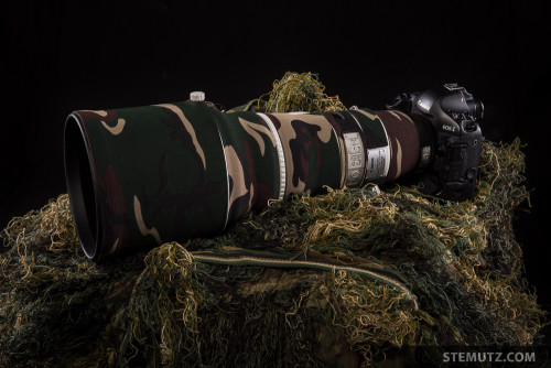 CANON EF 400mm F/2.8L IS II USM with LensCoat Wood Camo …