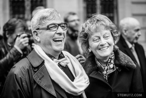 Eveline Widmer-Schlumpf and Fan ... ... Bundesrat / Conseil Fédéral