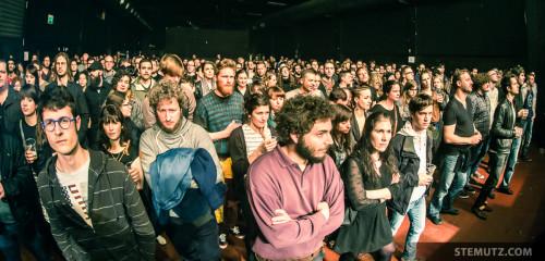 Du rock instrumental avec du chœur ... Vernissage DARIUS @ Fri-Son, Fribourg