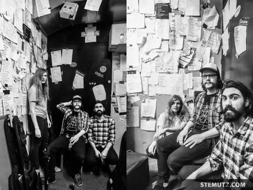 Backstage Band Shot ... Peter Kernel @ Bad Bonn, Düdingen, Switzerland, 27.03.2015