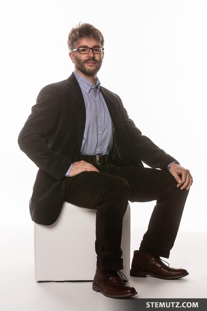Corporate Portraits Matthias Wiederkehr, Chambre Noire Studio, blueFactory, Fribourg