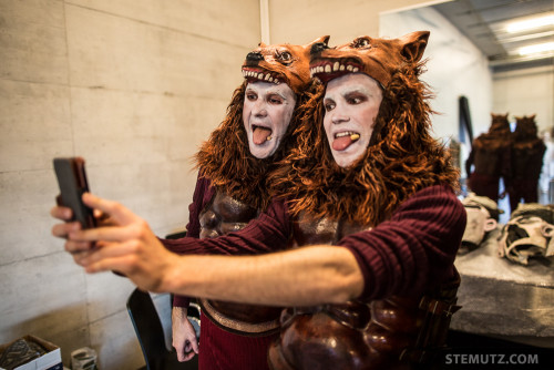Backstage & Best-Of ... Opéra Louise - Blanche-Neige @ Nuithonie, 15.04.2015
