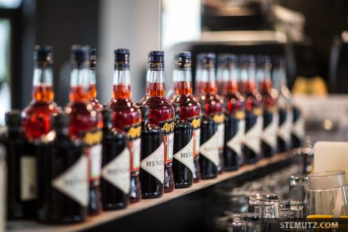 Aperol Bottles ... 40 Years Party Sébastien Virdis @ Cyclo Café, Fribourg, 02.05.2015