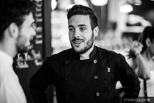 Chef Benoît Waber ... 40 Years Party Sébastien Virdis @ Cyclo Café, Fribourg, 02.05.2015