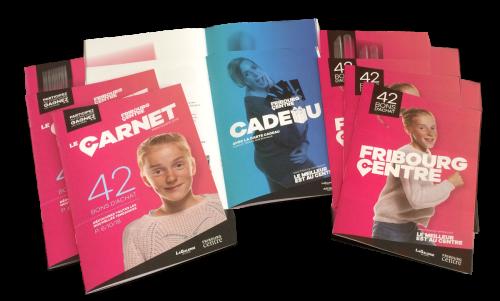 Carnet de bons ... Fribourg Centre Shooting Campagne 2015-2016