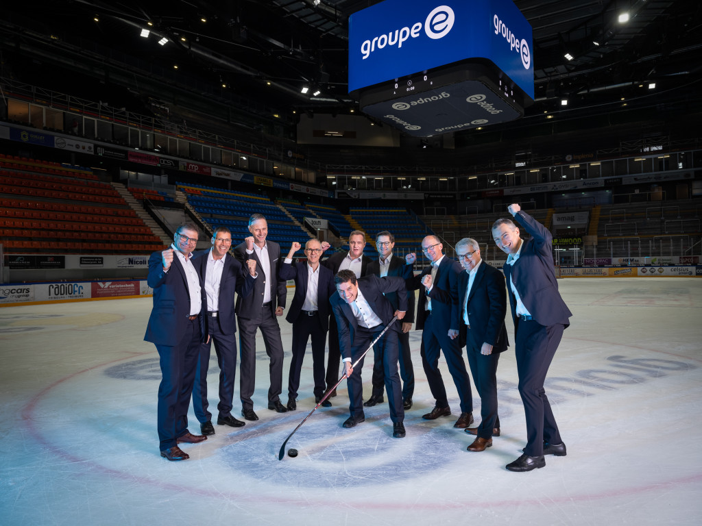 Groupe E Shooting Direction Rapport de Gesion 2019, BCF Arena, 10.02.2020