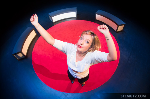 On Stage: Brigitte Rosset Tiguidou Portraits @ Equilibre, Fribourg