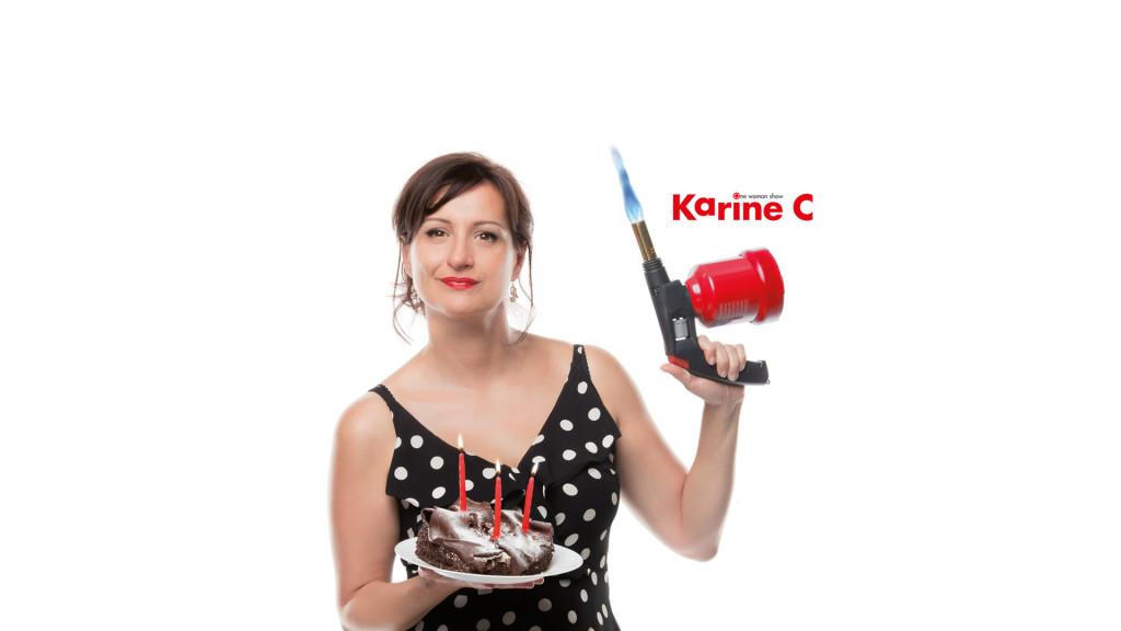 L'humoriste Karine C. par STEMUTZ