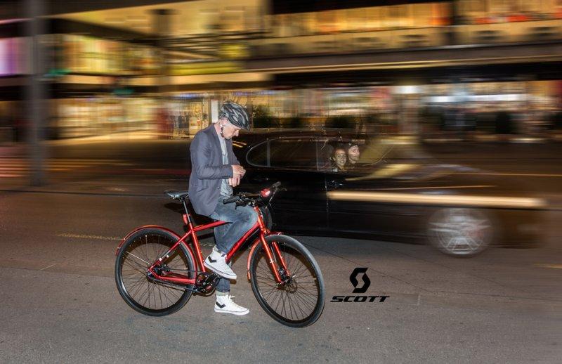 SCOTT SPORTS: Photos pour catalogue et publicités Urban Bikes